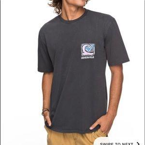 Quiksilver durable dens way t shirt NWT